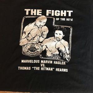 Rare Vintage Men's Marvin Hagler Shirt